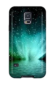 Ideal BayyKck Case Cover For Galaxy S5(bright Neon Fountain ), Protective Stylish Case by icecream design