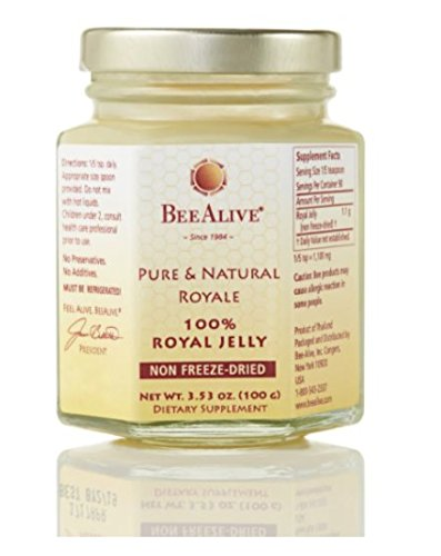 BeeAlive Pure & Natural Queen's Royale (Raw Royal Jelly) by BeeAlive