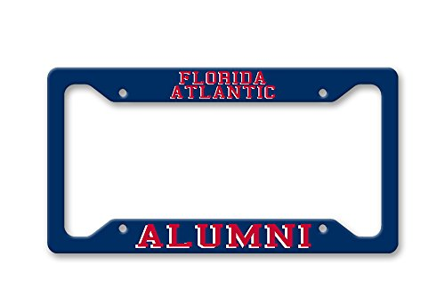 The Turnip Seed Co Florida Atlantic Alumni - FAU Colors - License Plate Frame LP1558 from The Turnip Seed Co