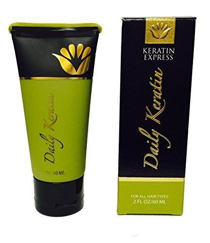 Keratin Express Daily Keratin Hair Treatment Heat Protector for All Hair Types, 2 fl oz.
