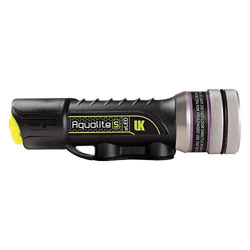 Underwater Kinetics Aqualite-S UV-395, Black, USB...
