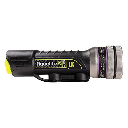Underwater Kinetics Aqualite-S UV-395, Black, USB Charger
