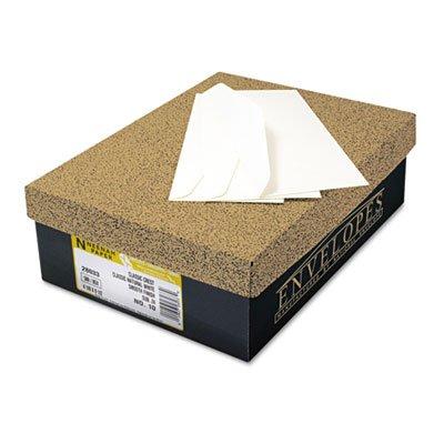 Neenah Paper 1744000 Classic Crest #10 Envelope, 4 1/8 x 9 1/2, Solar White (Box of 500)