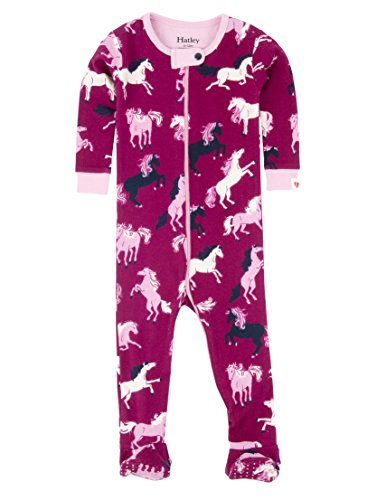 Hatley DR5FARM125 Girls Footed Coverall