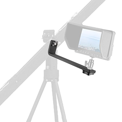 Neewer Mounting L-Bracket of Camera Crane for LCD LED Monitor with 1/4-inch Screw Hole
