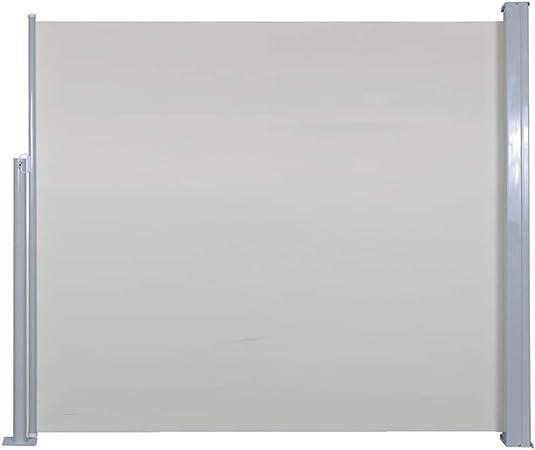 Festnight Tenda da Sole Laterale Retrattile Crema 100x300 cm//120x300 cm//140x300 cm//160x300 cm