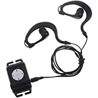 ZTOP Waterproof Underwater 4GB MP3 Music Player+FM Radio for Swimming (Black)