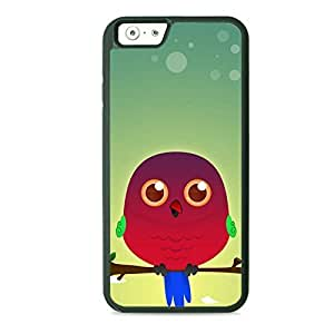 Case Fun Case Fun Australian King Parrot by DevilleART TPU Rubber Back Case Cover for Apple iPhone 6 4.7 inch
