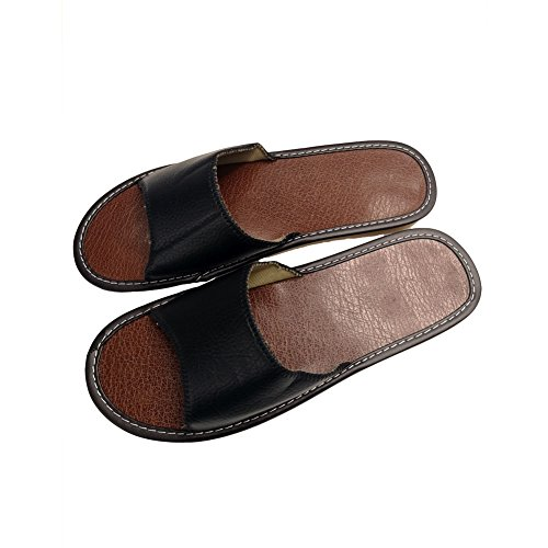 Slipper Sandals House Linen Shoes Beach Men Slippers Silent Women Indoor Black Summer Women HRFEER z7SwT