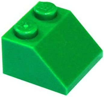 LEGO Parts and Pieces: Green (Dark Green) 2x2 45 Slope x200