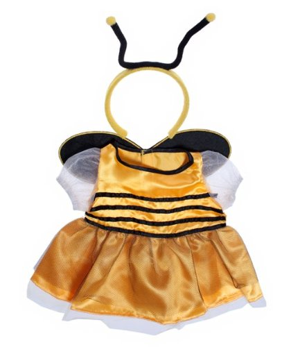 [Bee Dress w/Antenna Teddy Bear Clothes Outfit Fit 14