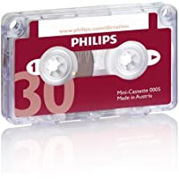 Philipspch Audio & Dictation Mini Cassette, 30 Minutes (15 X 2), 10/Pack