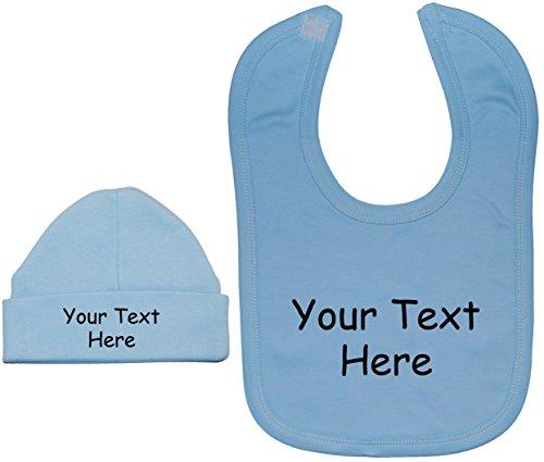 Bavaglino da misura a personalizzato da berretto mesi blu Acce bambino su Design 0 il berretto messaggio tuo Prodotti e Creato 12 nqzEZTwp