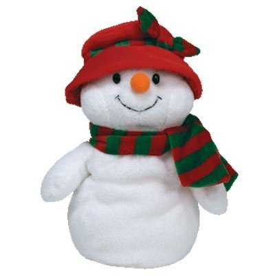 TY Pluffies Icicles Snowman with Hat Hats & Caps Costumes & Accessories