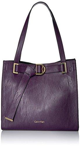 Belted Tote Handbag - 8