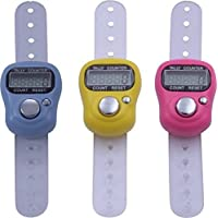 K&F Deals Mini Hand Tally Counter Finger Ring Digital Electronic Head Count,Japa Counter