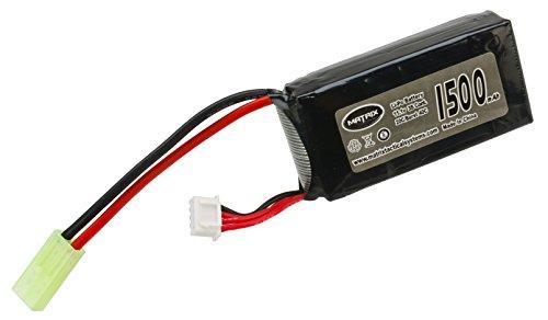 Evike - Matrix 11.1V 20C 1500 mAh LiPo  Battery for PEQ Type