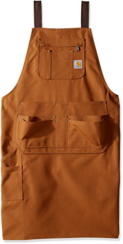 Carhartt Men's Apron, Carhartt Brown, OFA