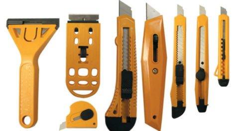 nap-off Razor Knife Scraper Carton Box Knife Envelope Opener (Paper Scraper)