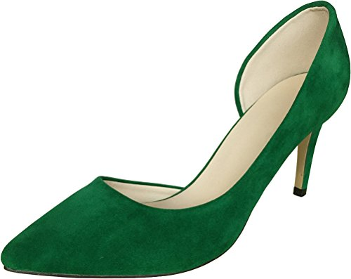 CFP - Sandalias con cuña mujer Verde