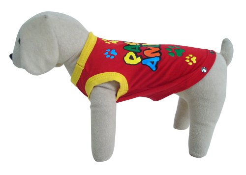 UP Collection Party Animal Tank Top for Dogs, Red, Medium, My Pet Supplies