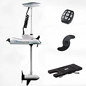 Haswing cayman 24v 80lbs bow mount electric for Aquos trolling motor review
