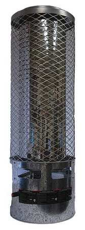 - 250000 BtuH Radiant Portable Gas Heater, NG