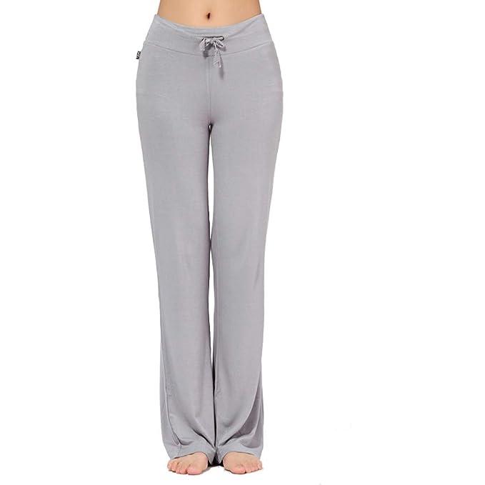 Pantalón Ancho para Mujer Pantalones Deportivos de Baile ...