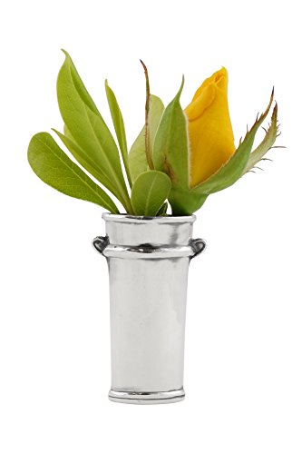 Flower Bucket Vase Lapel Pin 925 Sterling Silver Lifestyle Updated
