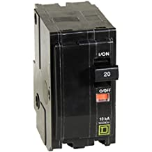 Square D by Schneider Electric QO220CP QO 20Amp Two-Pole Circuit Breaker