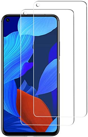 Image ofProtector de Pantalla Huawei Nova 5T, Cristal Templado [9H Dureza][Alta Definición][Fácil de Instalar] para Huawei Nova 5T (2 Piezas)