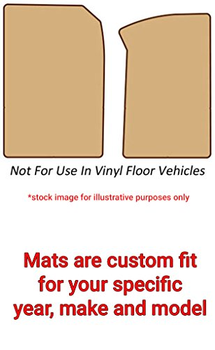 American Floor Mats Compatible with 2001 Ford F-150 Carpeted Car Floor Mats - 2 Piece Fronts Set, Tan - for Standard Cab ()