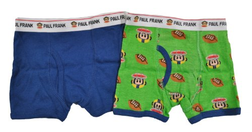 Paul Frank Toddler Boys Julius Football 2Pc Boxer Briefs ()