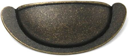 """2 Pack PA1022-WOA Windover Antique 2 1//2/""""cc Cup Pull Handles Belwith/'s Oxford"""