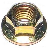 Hard-to-Find Fastener 014973271817 Grade 8 Hex Flange Lock Nuts, 3/8-16, Piece-100