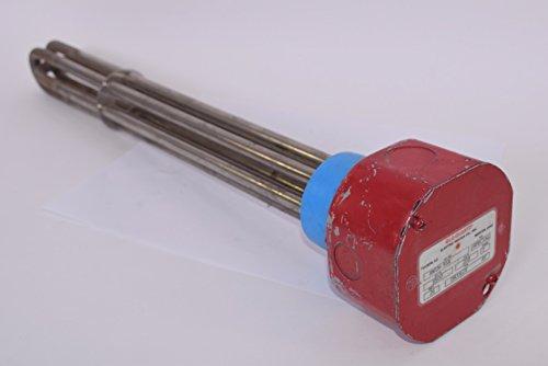 - GLO-QUARTZ RWIN-95X Immersion Heater INCOLOY 9500 Watts, 208 Volts 3 Ph