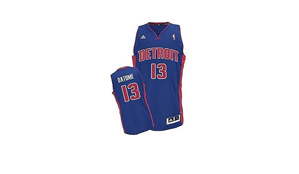 Adidas - Camiseta Baloncesto NBA Detroit Pistons datome Hombre: Amazon.es: Deportes y aire libre