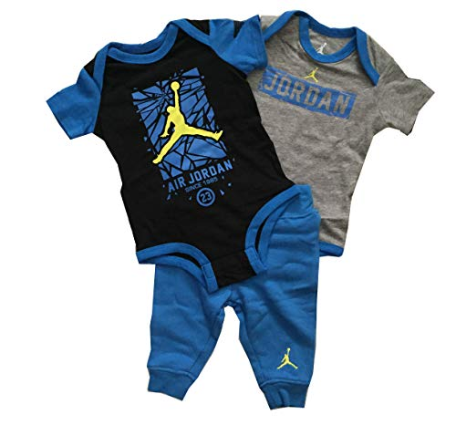 Jordan Infant Boys 3 Piece Bodysuit and Pants Set 3-6 for sale  Delivered anywhere in USA