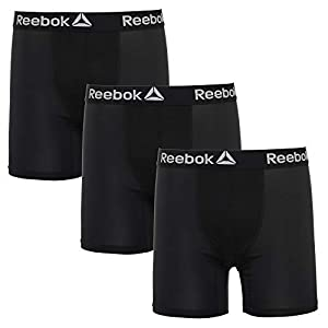 Reebok Mens 3 Pack Performance Boxer Briefs