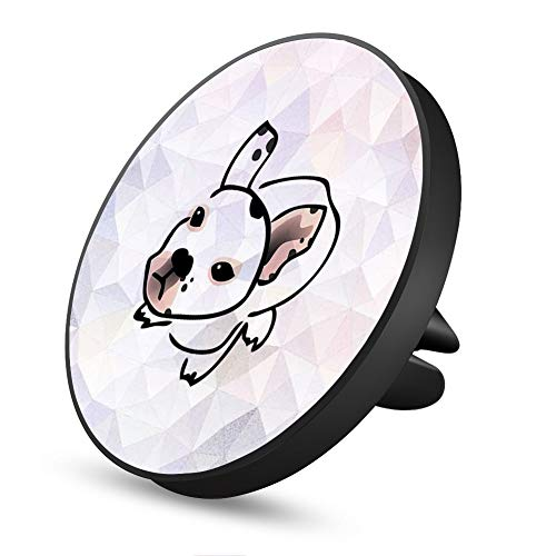 Marble Dog Magnetic Mount, Air Vent Magnetic Car Mount Phone Holder, for Cell Phones and Mini Tablets with Fast Swift-Snap Technology
