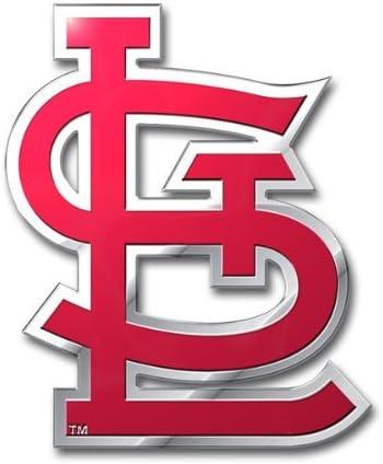 Team ProMark MLB St Louis Cardinals Die Cut Farbe Automarke Emblem