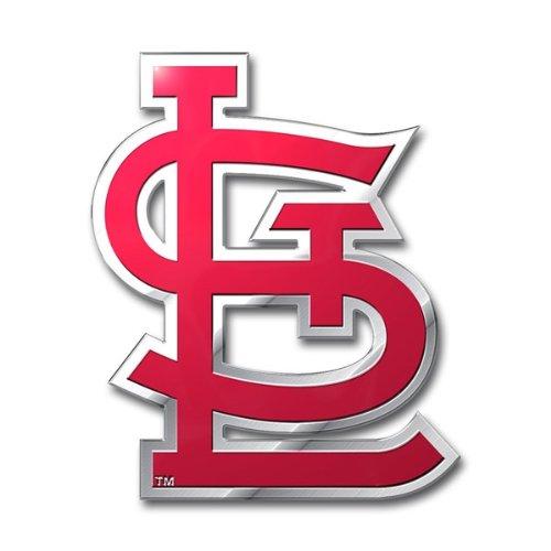 MLB St. Louis Cardinals Die Cut Color Automobile Emblem