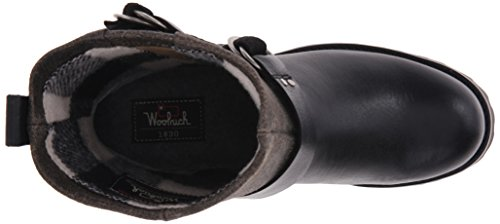 Baltimore Women's Boot Harness Woolrich Black Crackle Leather B5qxngw