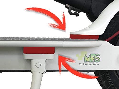 MyFuturShop Kit para Ruedas 10 Pulgadas Compatible con Xiaomi M365, Levanta el Guardabarros y el Caballete para Poder Poner la Rueda Trasera y ...