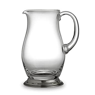 Arte Italica Taverna Brussels Pitcher, Clear