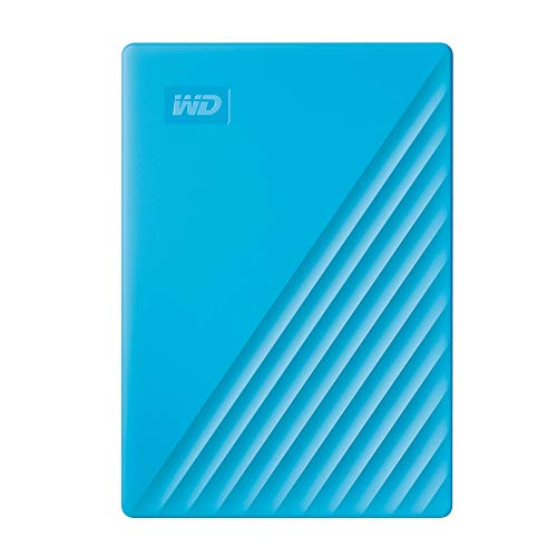 WD 2TB My Passport Portable External Hard Drive, Blue – WDBYVG0020BBL-WESN