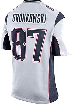 san francisco 4b798 8b315 Men's/Women's/Youth Rob #87 White Gronkowski Game Jersey ...
