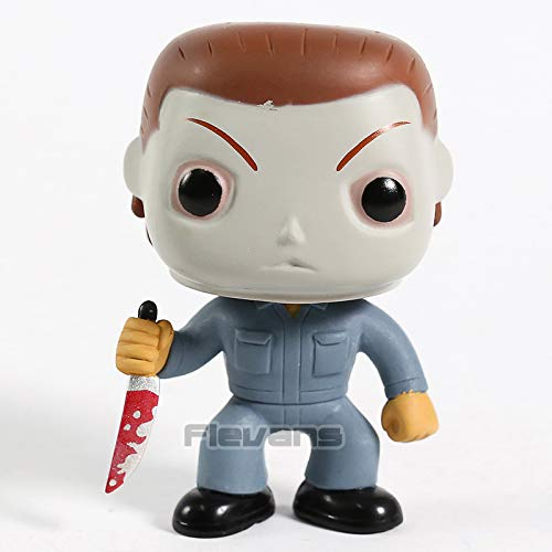 10cm (3.9 inch) - Halloween Michael Myers 03 Vinyl Figure Collectible Bobble Head Doll Toy]()