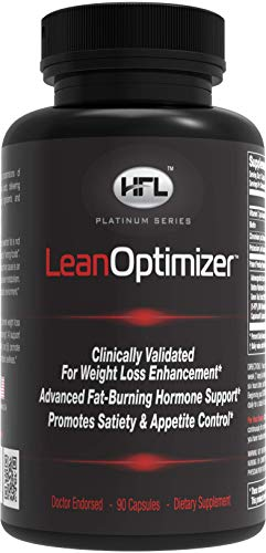 HFL | Lean Optimizer | Weight Loss, Fat Burner, Appetite Control, Increases Metabolism | Green Coffee Bean, 5-HTP, Theobromine, L-Tyrosine Ethyl Ester, Yerbe Mate, Forskolin Extract