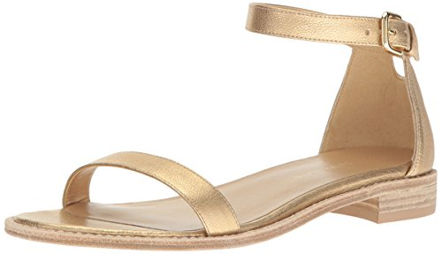 Stuart Weitzman Women's Nudistflat Flat Sandal Chino C5x9wFYk